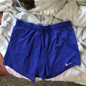 Royal purple Nike shorts
